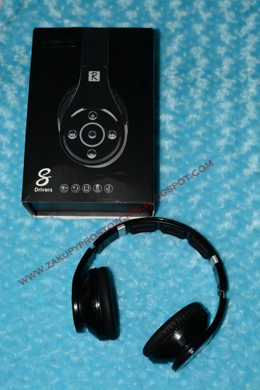 Słuchawki bluetooth Bluedio R