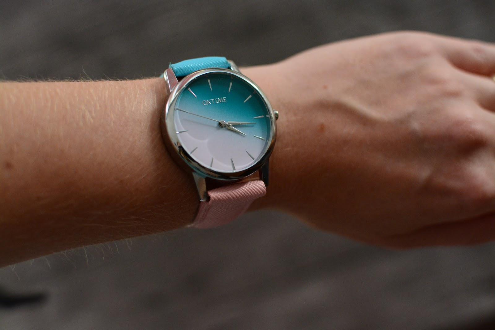 Zegarek ombre