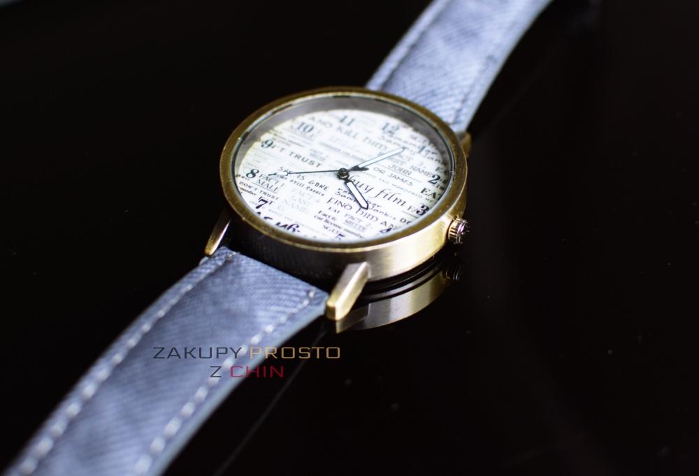 Zegarek w stylu retro