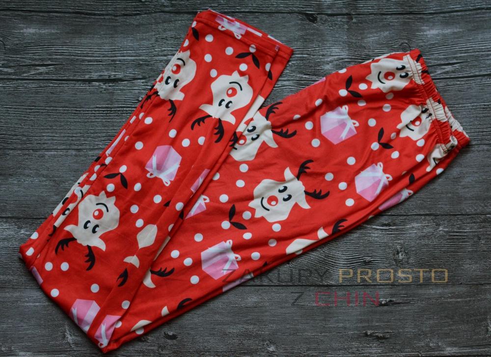 Świąteczne legginsy