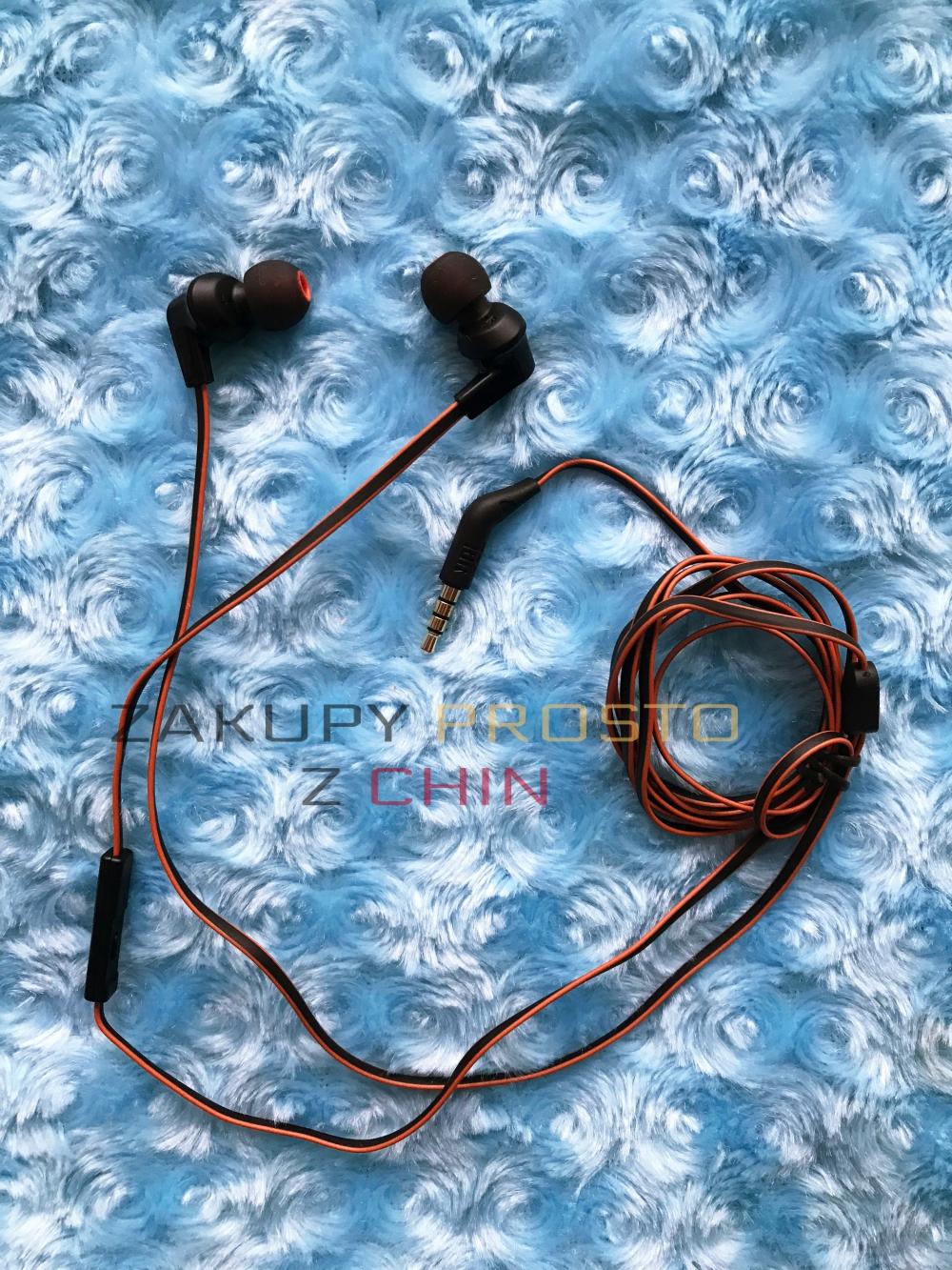 Słuchawki dokanałowe JBL T120A